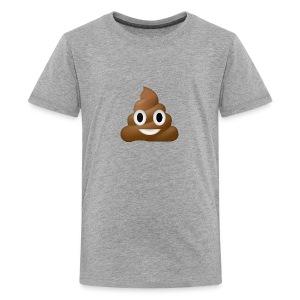 Poo E-moji - Kids' Premium T-Shirt
