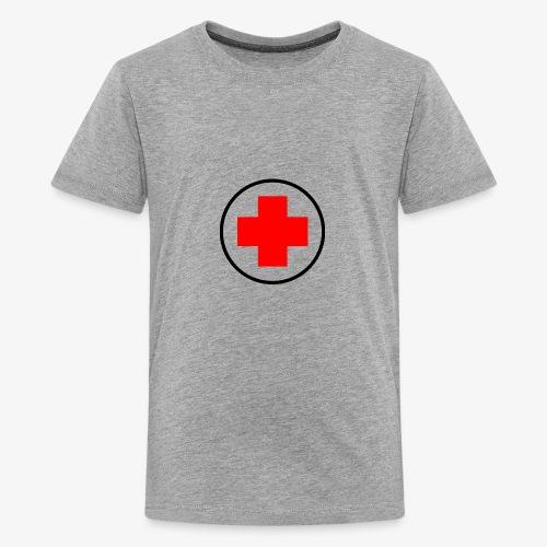 red cross - Kids' Premium T-Shirt