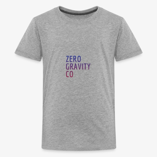 Zero Gravity Colorful Logo - Kids' Premium T-Shirt