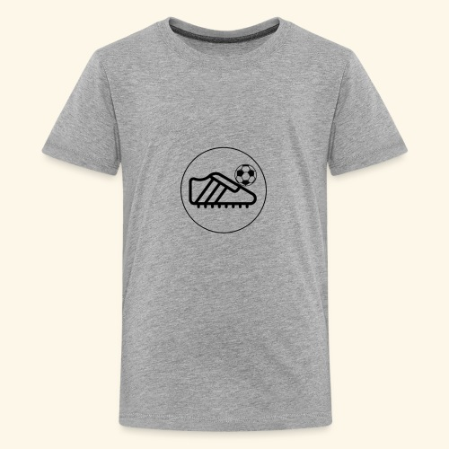 foot ball - Kids' Premium T-Shirt