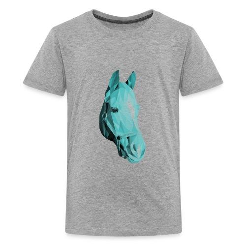 Blue Horse - Kids' Premium T-Shirt