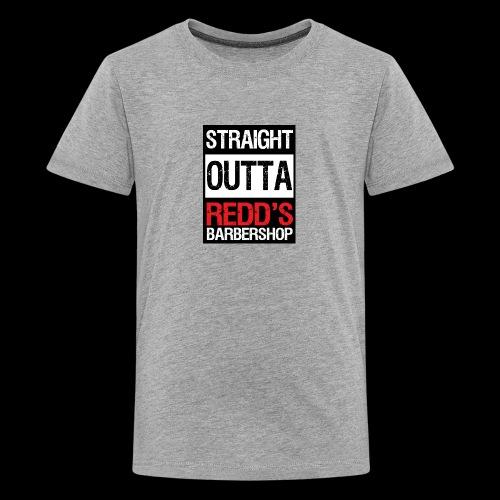 Straight Outta Redd's Barbershop - Kids' Premium T-Shirt