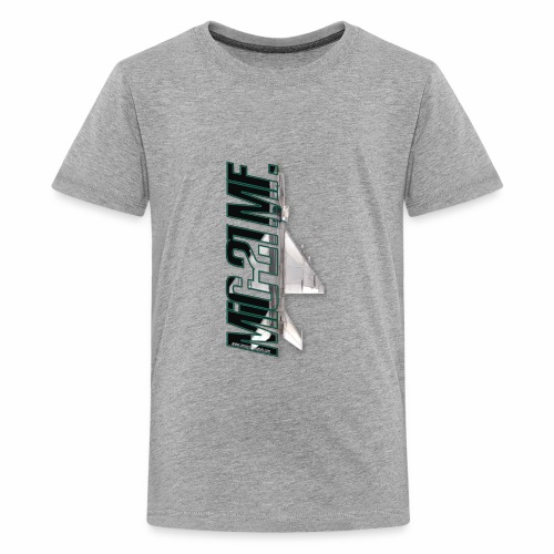 Mig-21 MF dark letters - Kids' Premium T-Shirt