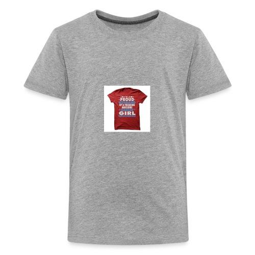 PROUD TO BE ALBANIAN - Kids' Premium T-Shirt