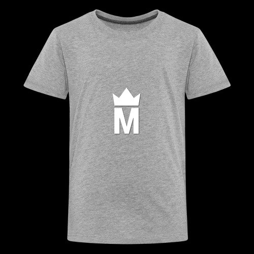 White Majesty Logo - Kids' Premium T-Shirt