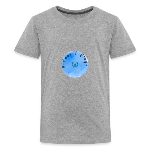 Kids hoodie black - Kids' Premium T-Shirt