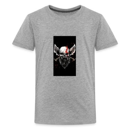 God of War Skull - Kids' Premium T-Shirt
