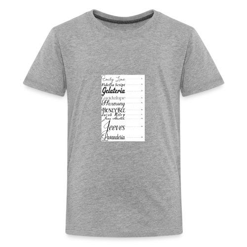 E4F61086 AECB 40EA 937A BD2632E88D8F - Kids' Premium T-Shirt