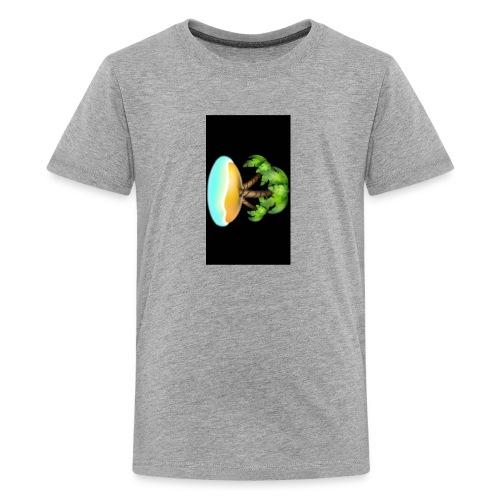 Black Island mojo logo - Kids' Premium T-Shirt