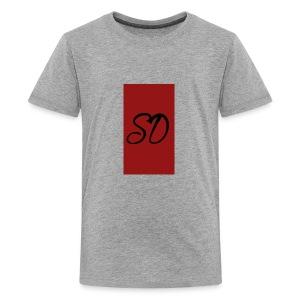 red sd - Kids' Premium T-Shirt
