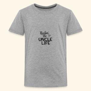 Rockin the uncle life - Kids' Premium T-Shirt