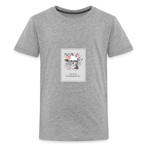 Alice In Wonderskull T-shirt - Kids' Premium T-Shirt