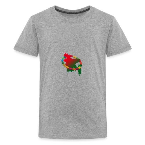 58ed1c6642938 0 goal - Kids' Premium T-Shirt