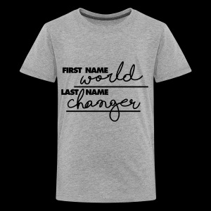 World Changer - Kids' Premium T-Shirt