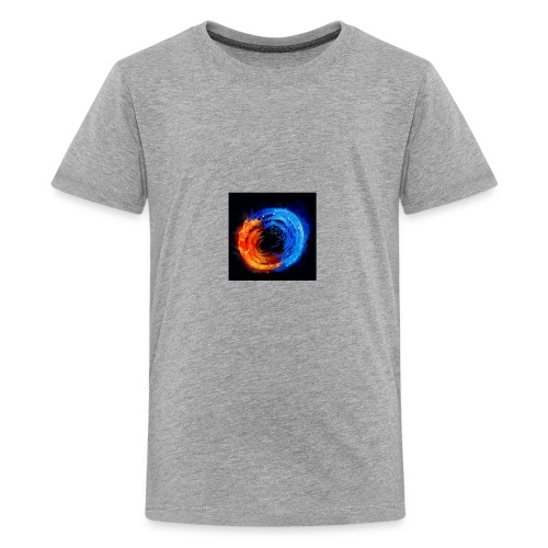 swirling fire and water 310265 - Kids' Premium T-Shirt