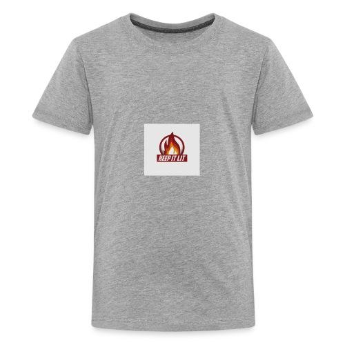 keep it lit - Kids' Premium T-Shirt