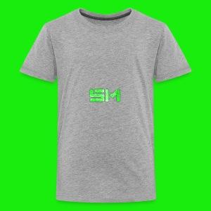 SloMotion logo - Kids' Premium T-Shirt