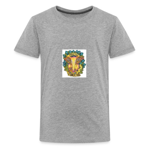 Positivity Elephant - Kids' Premium T-Shirt