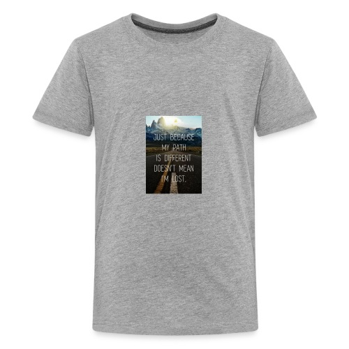 We all have a path chose the right one. - Kids' Premium T-Shirt