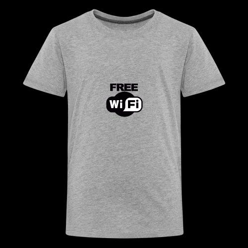 FREE WIFI - Kids' Premium T-Shirt