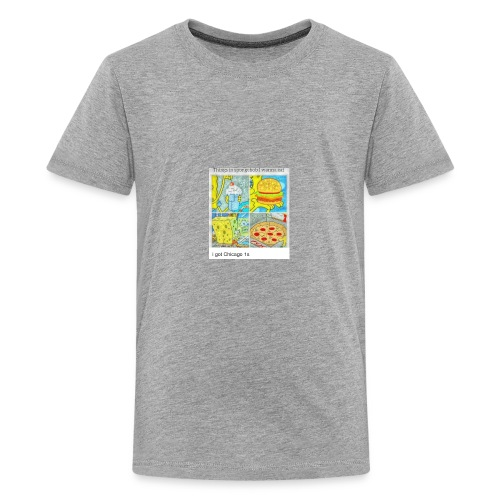 thing I would eat - Kids' Premium T-Shirt