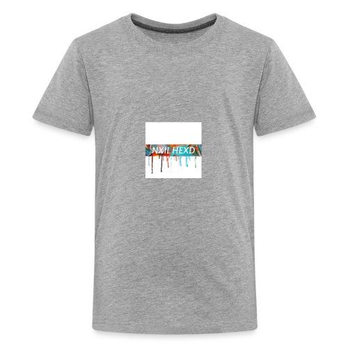 melting NXIL HEXD logo shirt !!!! 🔥⚡️ - Kids' Premium T-Shirt