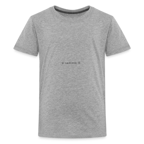 Sad buttons - Kids' Premium T-Shirt