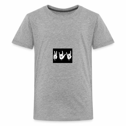 I Love Rock - Kids' Premium T-Shirt