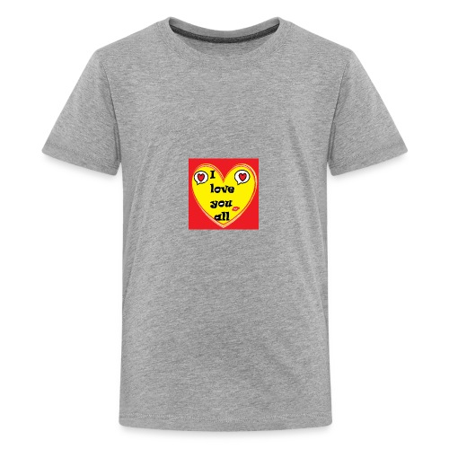 i love you all - Kids' Premium T-Shirt
