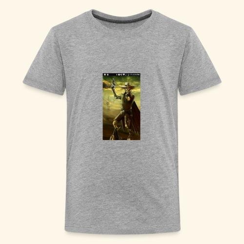 GUN SLINGER CYBORG MERCH - Kids' Premium T-Shirt