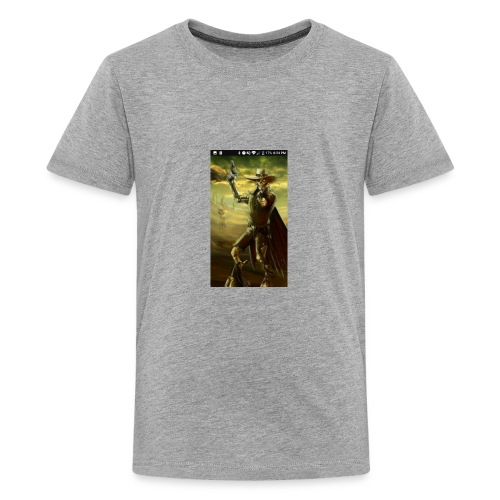 GUN SLINGER CYBORG MERCH - Kids' Premium T-Shirt