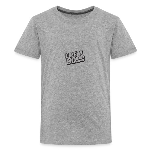 Like A Boss JustMarMar shirt - Kids' Premium T-Shirt