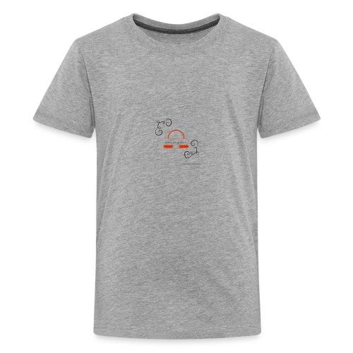 Crazyjoegrover logo - Kids' Premium T-Shirt