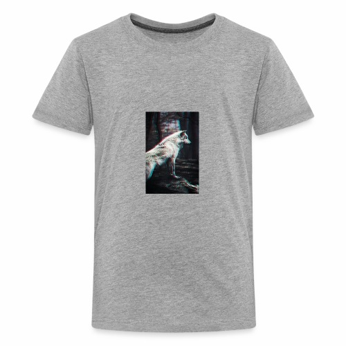 Vigorous Wolf - Kids' Premium T-Shirt