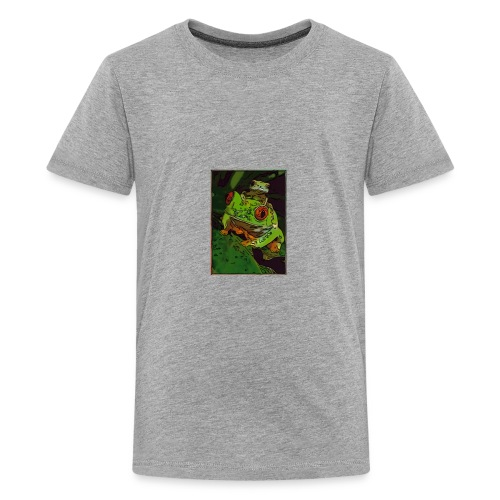 Happy Froggy - Kids' Premium T-Shirt