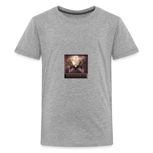 Under God - Kids' Premium T-Shirt