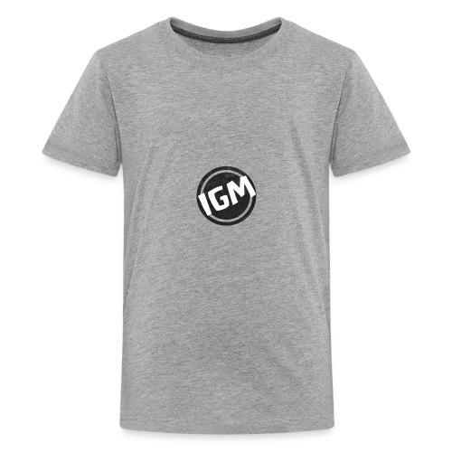 IBBY GUCCI MONKEY LOGO - Kids' Premium T-Shirt