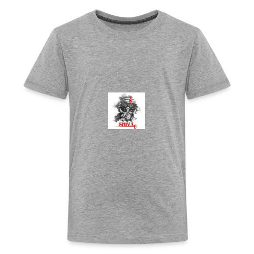 lord shiva indian god - Kids' Premium T-Shirt