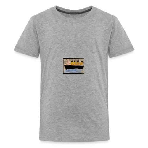 Titanic ship paint - Kids' Premium T-Shirt