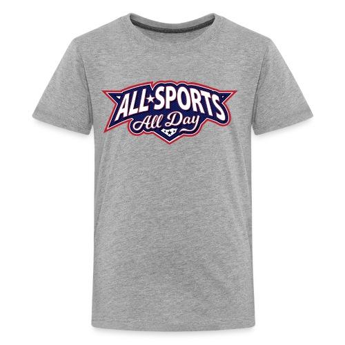 All Sports All Day Logo - Kids' Premium T-Shirt