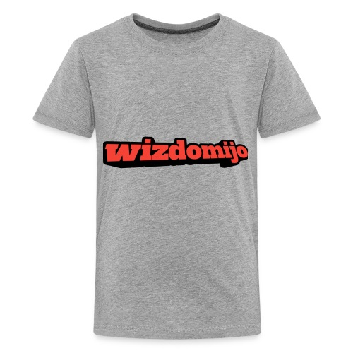 Wizdomijo big sighn - Kids' Premium T-Shirt