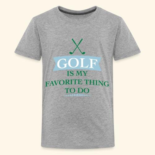 golfer - Kids' Premium T-Shirt