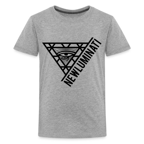 newluminati graphic - Kids' Premium T-Shirt