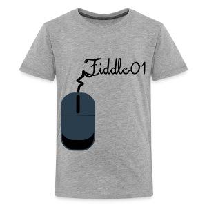 Fiddle01 Mouse Design - Kids' Premium T-Shirt