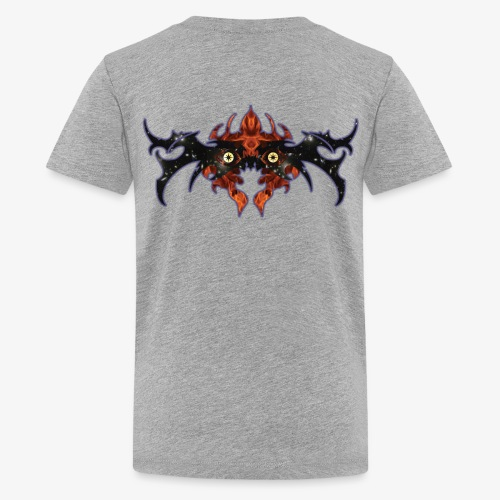 The dark universe yawning 002 - Kids' Premium T-Shirt