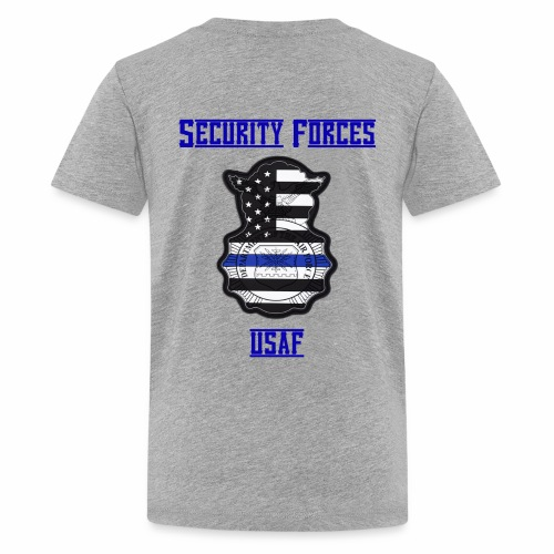 Security Forces Blue Line - Kids' Premium T-Shirt
