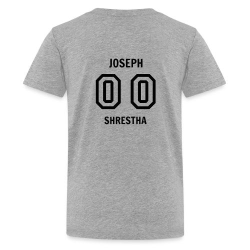 Joseph Shrestha's Jersey - Kids' Premium T-Shirt
