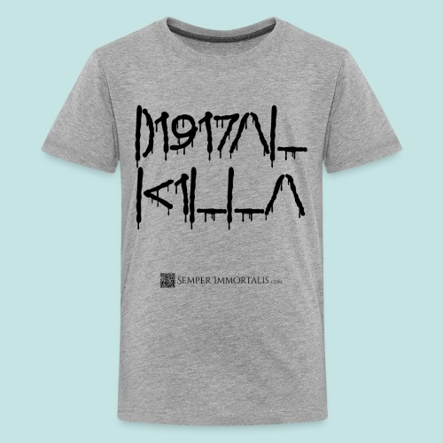 Digital Killa (black) - Kids' Premium T-Shirt