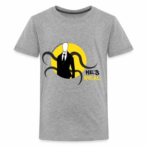 Slender Man is Real - Kids' Premium T-Shirt