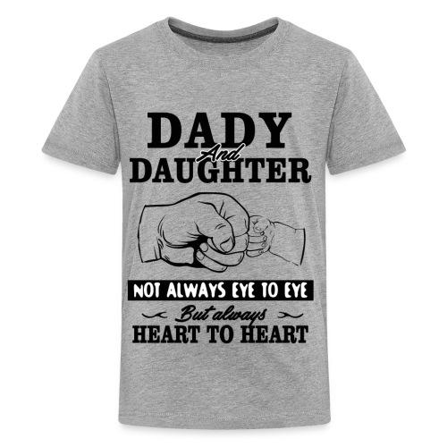 Dady and Daughter - Kids' Premium T-Shirt